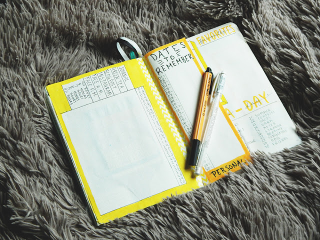 Bullet Journal Set-Up || June 2018