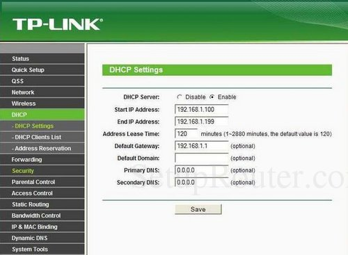 How To Change The DNS Server On Your TP-Link Router