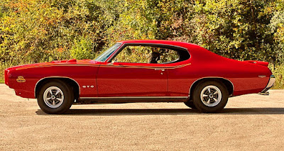 1969 Pontiac LeMans GTO The Judge Side Left