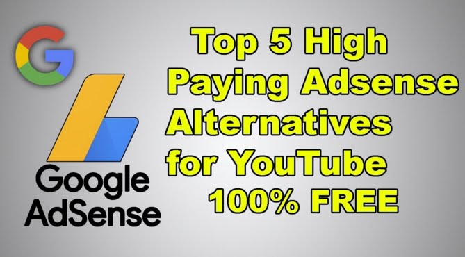 5 Adsense Alternatives For Youtube Other Than Google Adsense Admobers