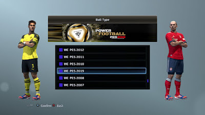 PES 2013 Pro Team Mini Patch Season 2018/2019