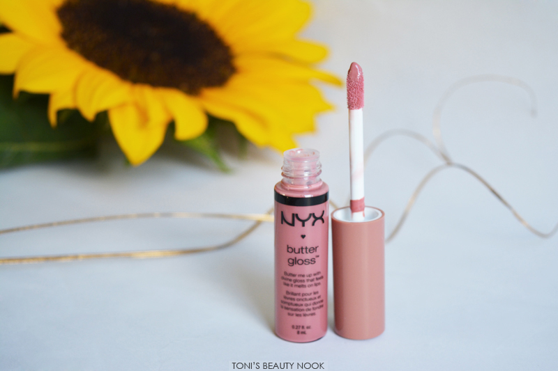nyx haul butter gloss tiramisu