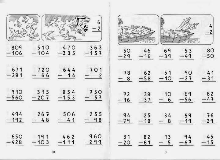 Ejercicios de matematica para niños | Material para maestros ...