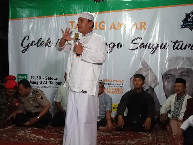 Gus Nur : Negara Kalau Tidak Pegang Syariat Bisa Hancur
