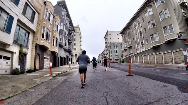 Heading up RnRSF hill