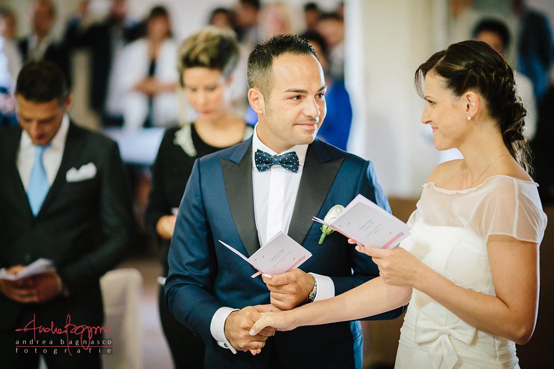 sposi altare scambio promesse foto matrimonio reportage