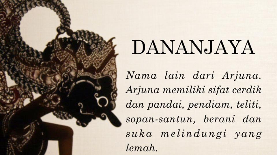 Kata Kata Wayang Arjuna Bahasa Jawa