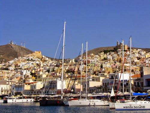 Syros, la baia di Ermuopolis