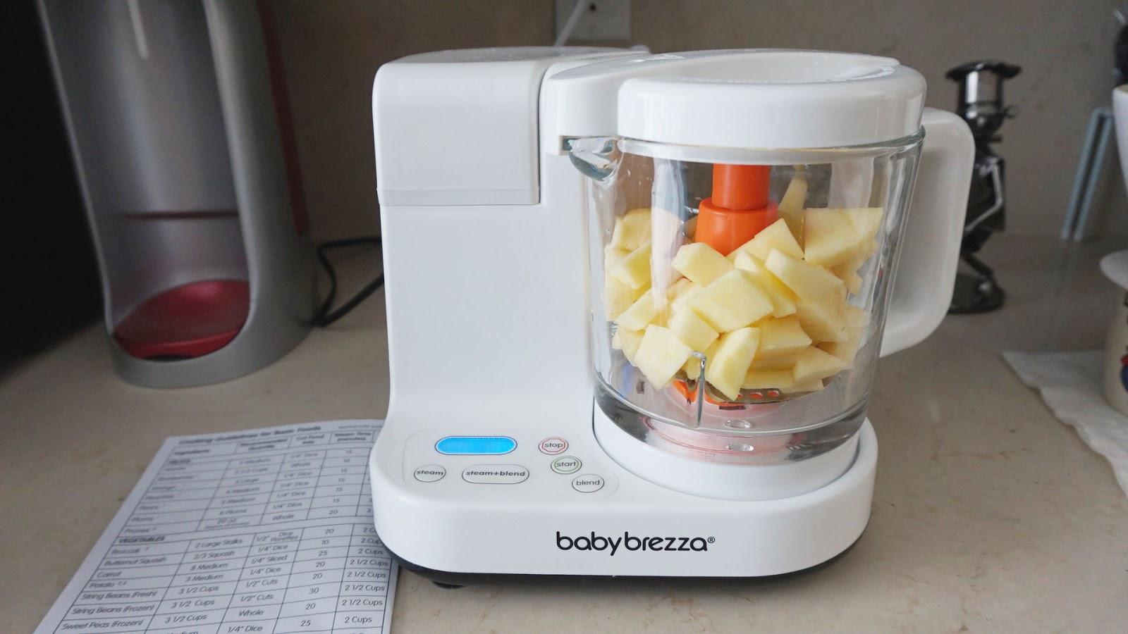 f09c98db0941 Review  Baby Brezza - Glass One Step Baby Food Maker  - miranda loves