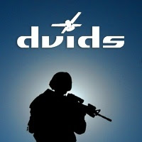The DVIDS web portal for military news in Afghanistan