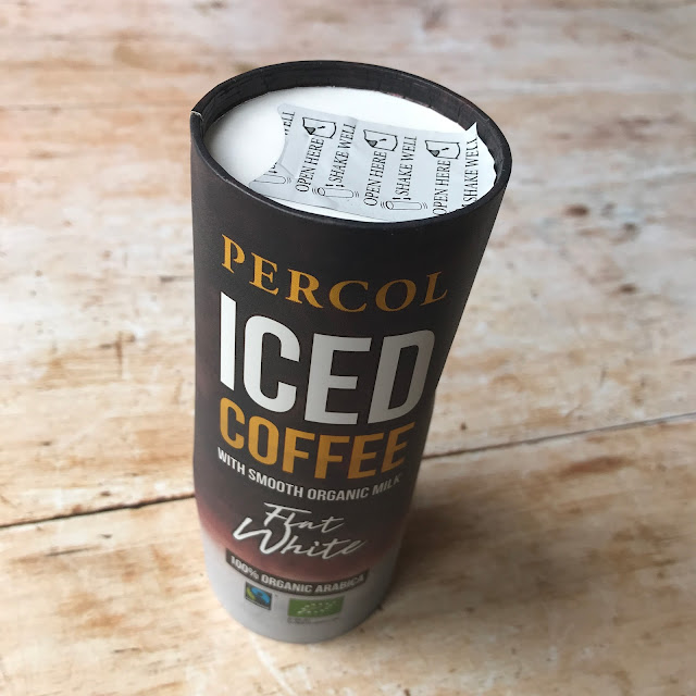 July 2018 Degustabox contents: Percol Iced Coffee