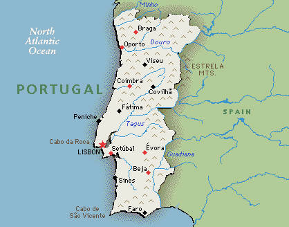 Portugal Travel Guide And Travel Info Exotic Travel Destination - Portugal map with airports