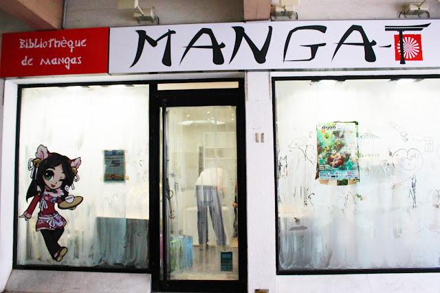 Manga -T Dijon - Manga Café