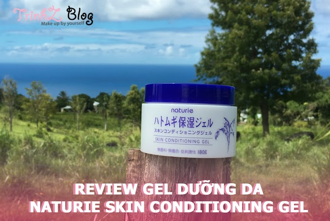 [REVIEW] Có gì hot ở gel dưỡng da Naturie Hatomugi Skin Conditioner Gel ?