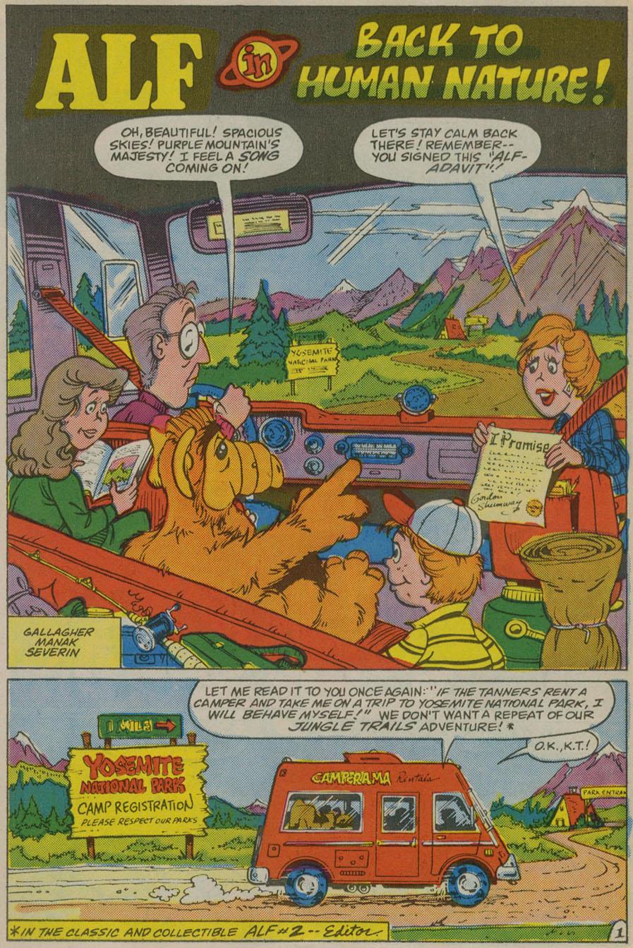Read online ALF comic -  Issue # _Annual 1 - 14