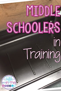 Start getting your intermediate students into the routine of middle school or junior high.