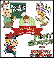 Secondary Smorgasbord: February Funnies