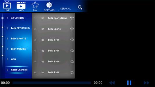 تطبيق لمشاهدة المباريات والدوريات الأروبية