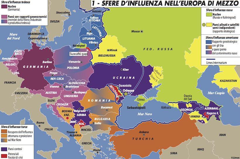 Limes club trieste la cina punta alla mitteleuropa il - Mappa di ungheria ed europa ...