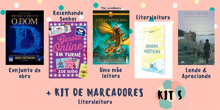 Sorteio: concorra a 28 livros e kits de marcadores