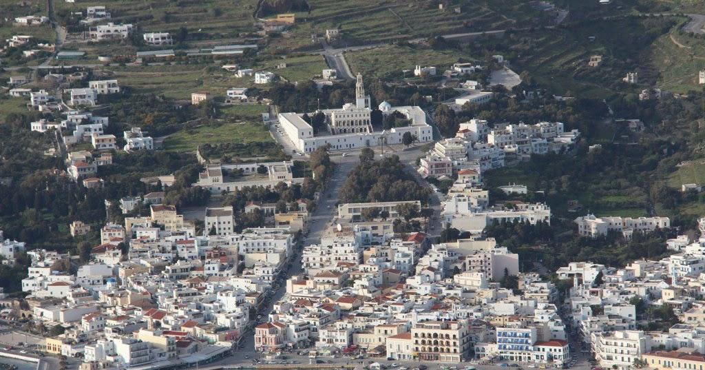 Η Ελλάδα από ψηλά: ΤΗΝΟΣ (TINOS),
