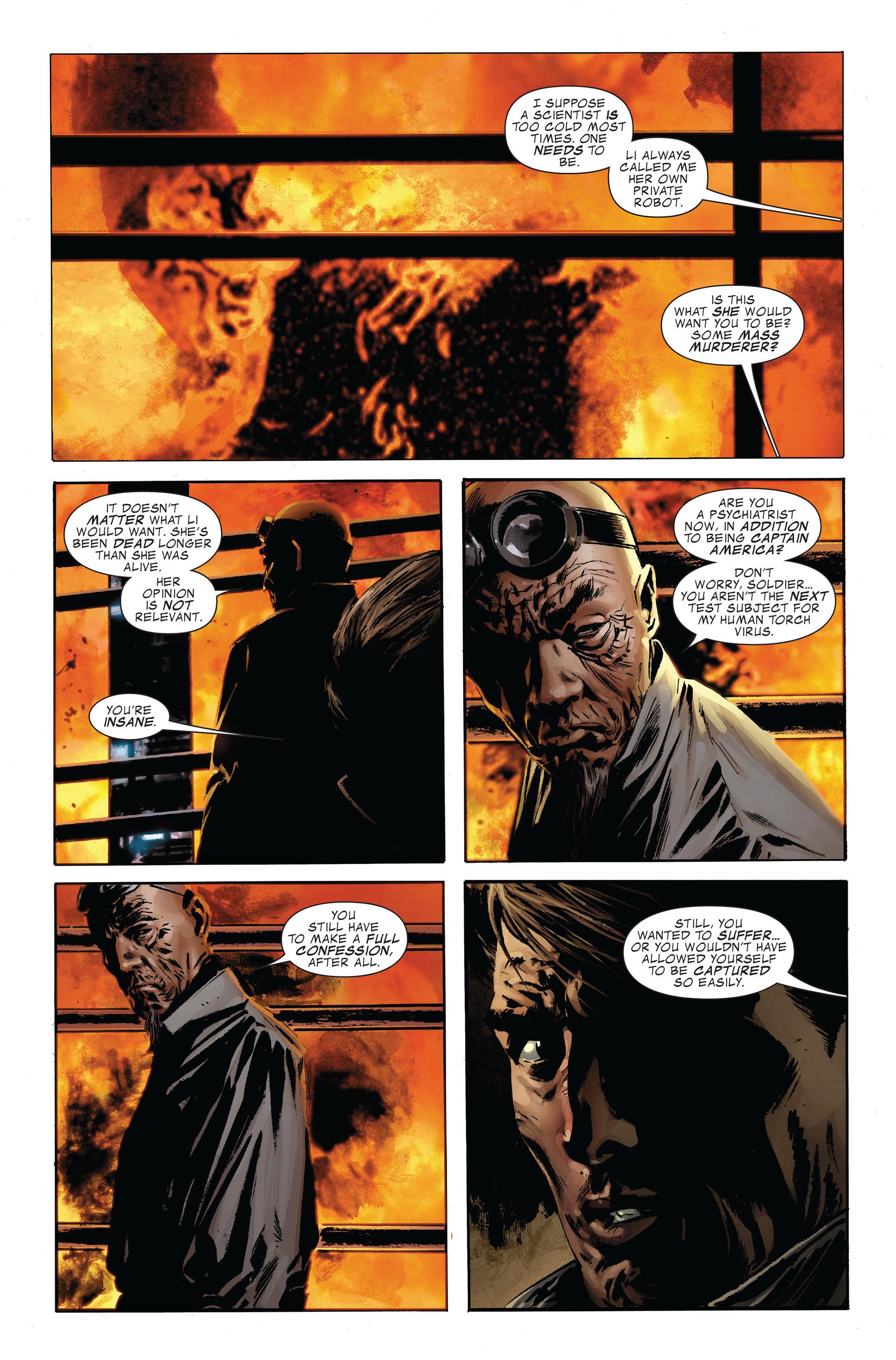 Read online Captain America (2005) comic -  Issue #47 - 23