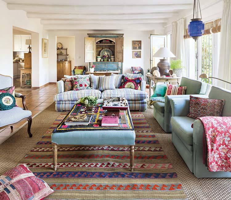 Scandinavian Home Design Looks So Charming With Eclectic: Blog Wnętrzarski: Hiszpański Dom