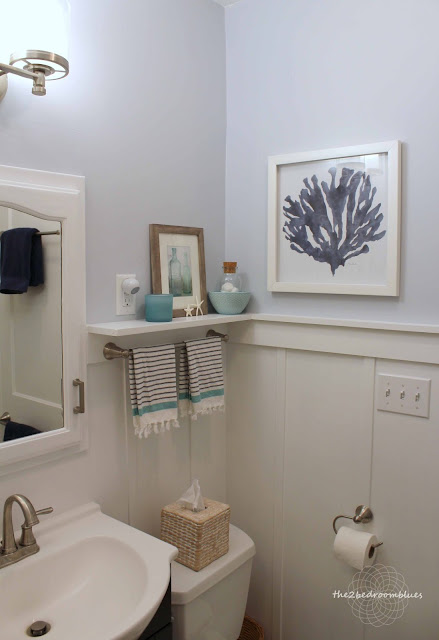 simple updates for small bathroom