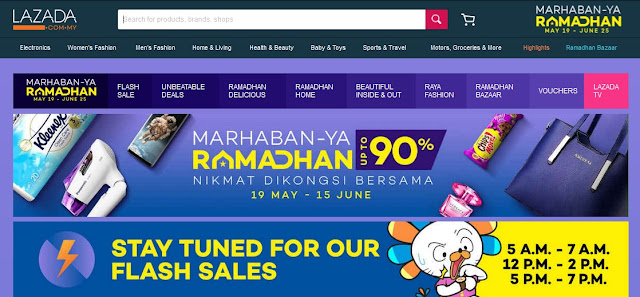 Marhaban Ya Ramadhan and Riang Ria Raya sale