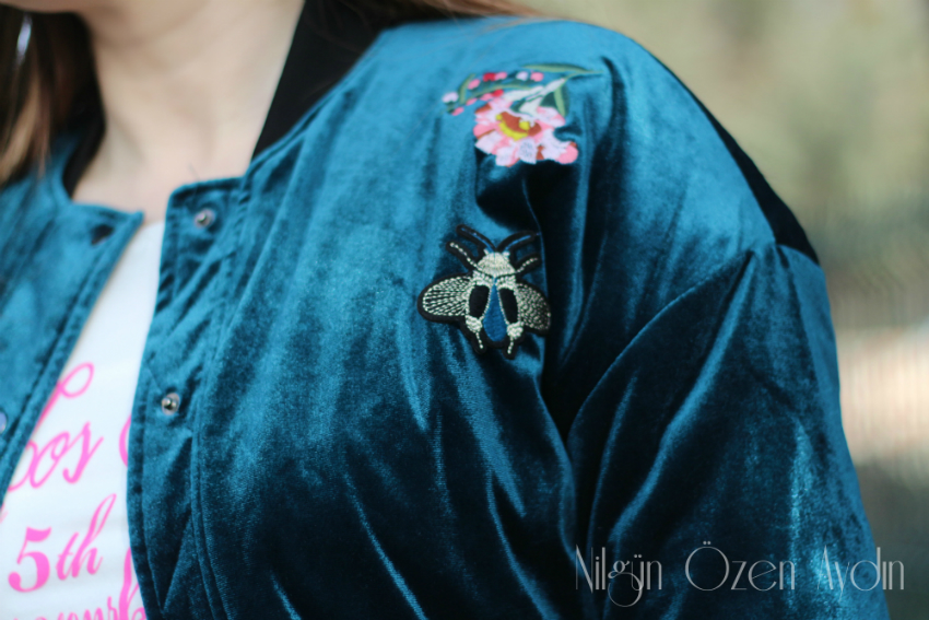 alışveriş-kadife nakışlı bomber ceket-bomber ceketler-Zaful-moda blogu-fashion blog