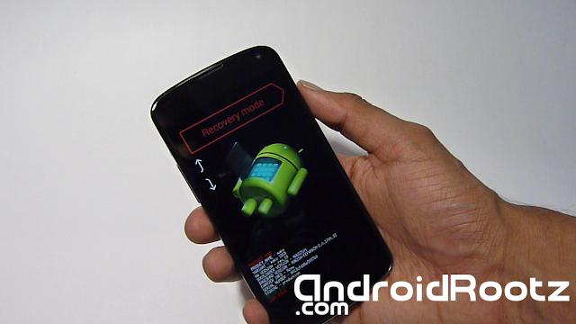How to Install ClockworkMod Recovery on Nexus 4 - Mac