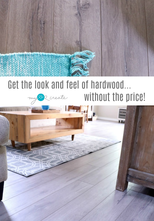 Why Laminate flooring is a great option for your home & Get the look and feel of Hardwood...without the price! | My Love 2 ...