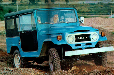 Toyota Bandeirante - 1978