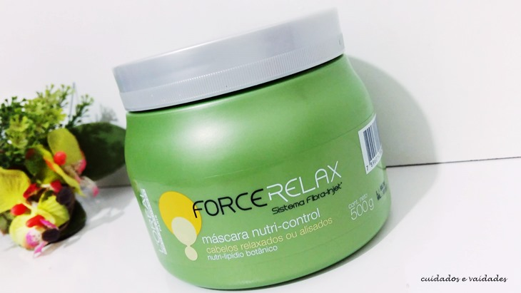 Máscara Nutri Control Force Relax Loreal