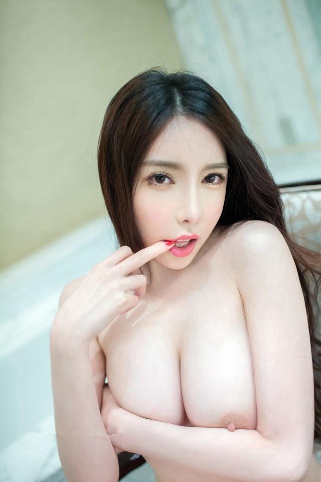 Sexy Chinese Girl: Big Tits Nude Uncensored: TuiGirl No.041 Model 曾水