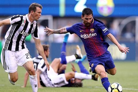 Mong chờ trận đấu của Juve trước Barca tại Champion League