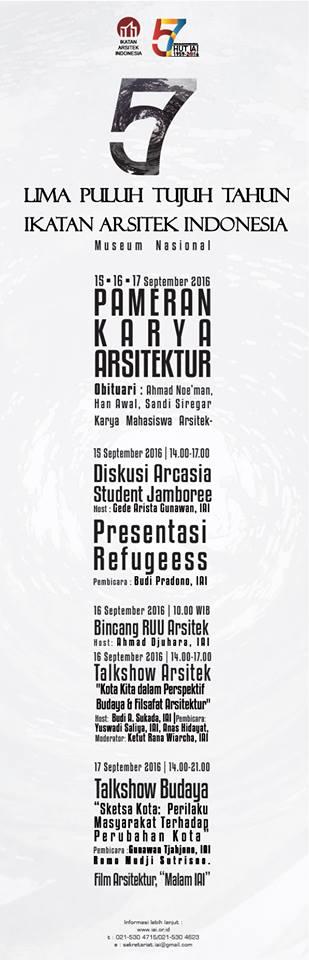 57 tahun Ikatan Arsitek Indonesia