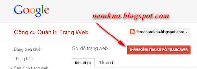 Tạo site map hỗ trợ SEO và page rank cho blogspot  Bài 4. Blogger – Hướng dẫn SEO cho Blog submit sitemap for blogspot de tang seo gap nhieu lan cai thien page rank namkna blogspot com 8