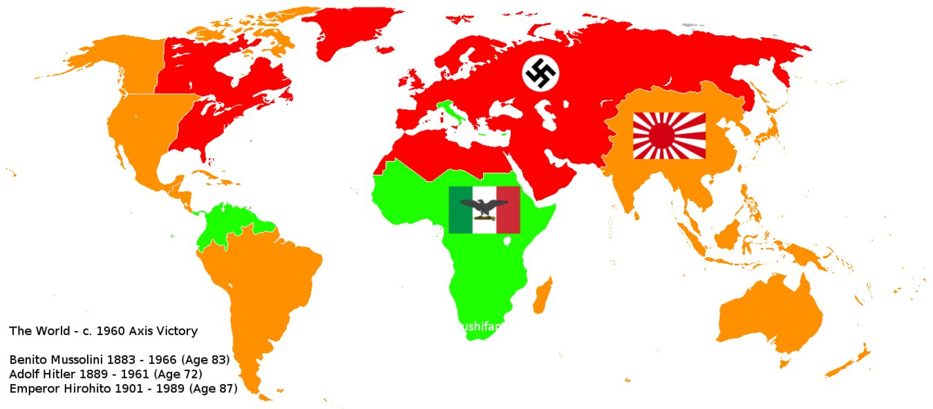Wwii Alternate History Map
