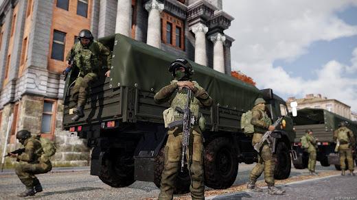 Arma3用現代のロシア軍と米軍MODに新コンテンツ