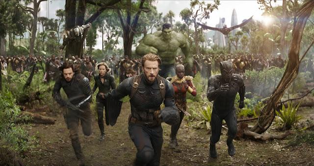 Kapitan Ameryka, Zimowy Żołnierz, Czarna Wdowa, Hulk, Falcon, bitwa, Wakanda, Czarna Pantera