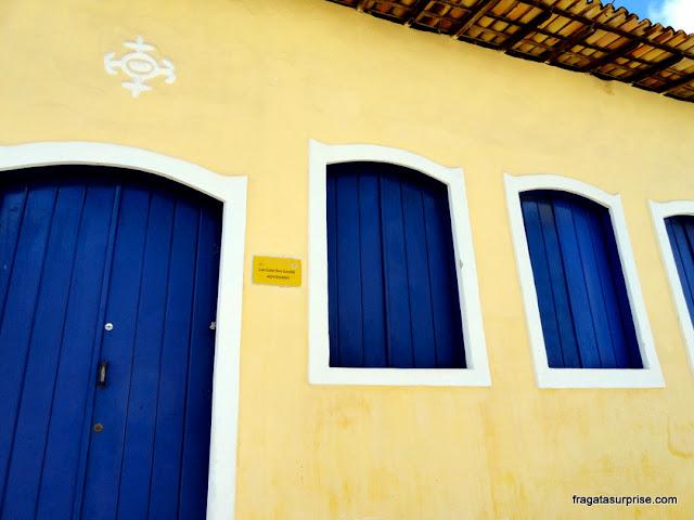 Fachada colonial em São Cristóvão