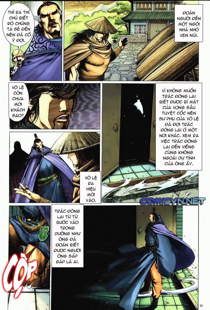 Anh hùng vô lệ Chap 10 trang 27
