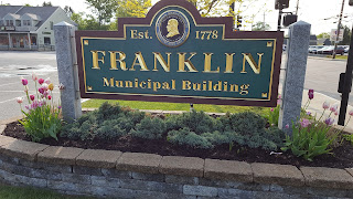 Franklin Municipal Building, site of  the Town Council meetings