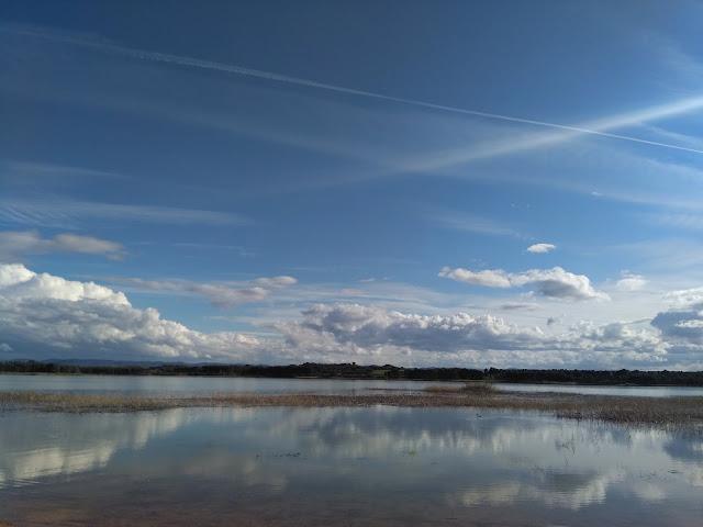 Lake La Estanca.