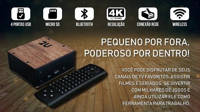 LANÇAMENTO MINI PC 2U IMAGENS + ESPECIFICAÇÕES DO EQUIPAMENTO CONFIRAM - 15/05/2018