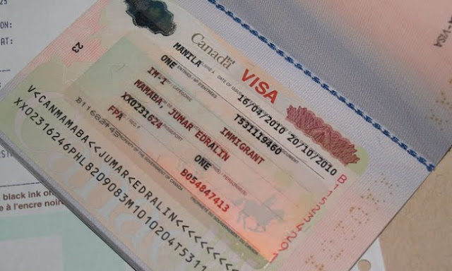 xin visa Canada 10 năm 2