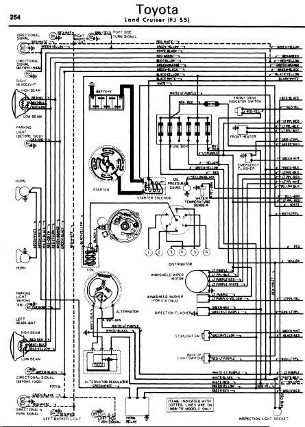 1975 toyota land cruiser wiring diagram