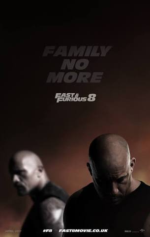 Fast and Furious 8 Family No more Poster