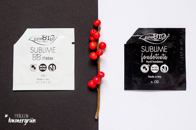 Purobio Sublime BB Cream No. 2 und Purobio Sublime Foundation No. 2